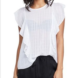 Rachel Roy / June Gemma Top: True White